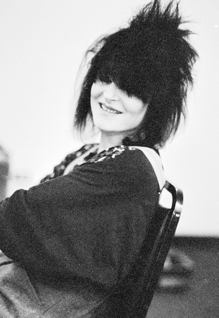 Siouxsie backstage